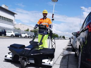 GPR mobile surveys